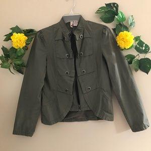 Stella Starr green women jacket size Medium
